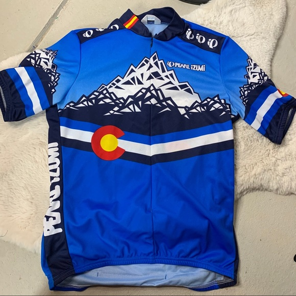 Pearl Izumi Select Jersey Blue NEW Pro Challenge S and XXL